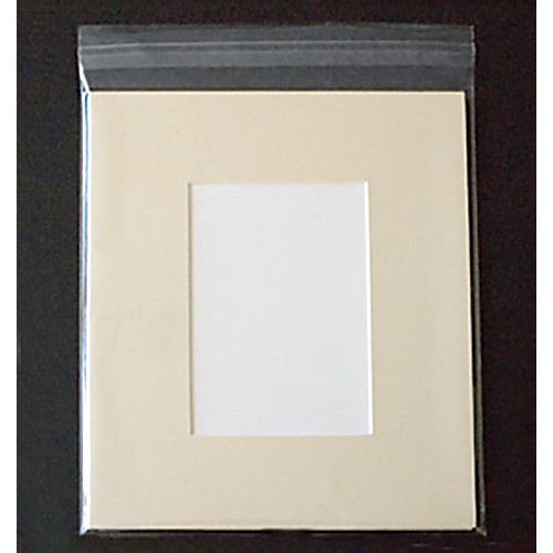 3x5 Cream Mat Back And Bag Combo 2x3 Window